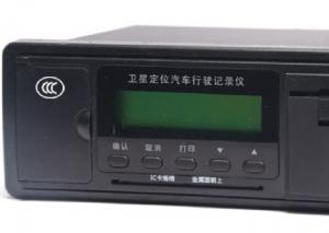 China VTDR Black Box Driving Recorder With GSM / Printer Function For Road Running on sale
