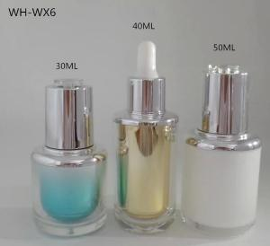 Quality 1oz 30ml 40ml 50ml plastic cosmetic oil bottle for sale
