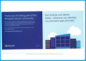 Quality Full Version Microsoft Windows Softwares Win Server 2016 Standard OEM box 64bit for sale
