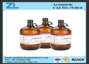 China Synthesis Of Organic Compounds HPLC Grade Acetonitrile Colorless Liquid on sale