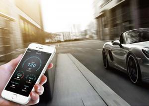 China Smartphone burglar alarm  Car anti - theft alarm system on sale
