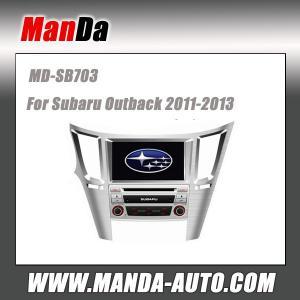 China Factory car audio for Subaru Outback 2011-2013 Car dvd gps dedicated navigation car multimedia system indash head units on sale