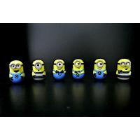 ABS Material Small Minion Figures , Despicable Me Minion Toys For Kids
