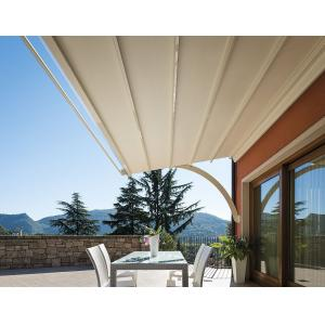 Quality A30 0.30mm Outdoor Sun Shade Fabric Roll With Polypropylene Material for sale