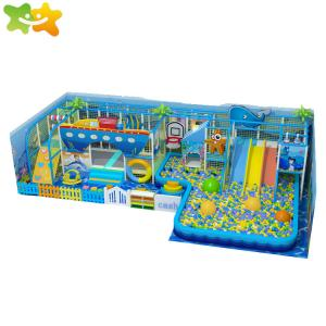 China SGS Kids Indoor Playground Equipment Amusement Park Soft Play Area Ball Pool on sale