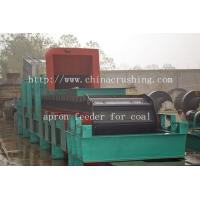 China Types of apron feeder for coal transport on sale