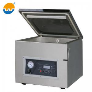China Double chamber vacuum packing machine for sea food / salted meat / dry fish / pork / beef / rice on sale
