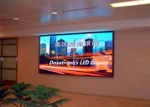 China High Definition Indoor LED Advertising Screen , SMD 3 In 1 RGB LED Video Display on sale