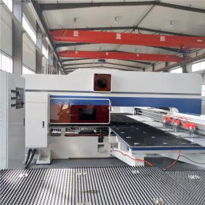 China Automatic CNC Sheet Metal Punching Machine High Efficiency 16 / 24 / 32 Station on sale