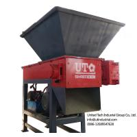 China compact single shaft shredder can be customized mutipurpose crusher in environmental reuse and recycling on sale