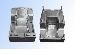 China PET TPE PVC HDPE EVA Plastic Chair Mould , Cold Runner or Hot Runner Injection Molding on sale