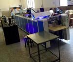 Печатная машина кода высокой эффективности КР с лампой СИД УЛЬТРАФИОЛЕТОВОЙ, шириной 72мм главной