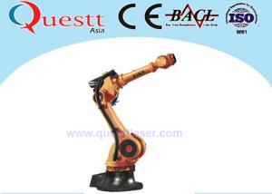 China 50kg Wrist Payload Industrial Robotic Arm 3400mm , 6 Axis Industrial Welding Robots on sale