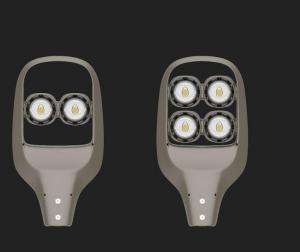 China 50w - 100w High Power LED Street Light , 5528LD IP66 COB LED Street Light on sale