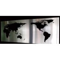 Globe Map Metal Wall Art