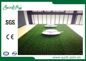 China PP 15mm Home Artificial Grass , Natural Looking Environmental friendly Dtex 5500 on sale