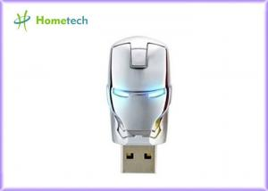 China Flawless Avengers Iron Man LED Flash 4GB Plastic USB Flash 2.0 Memory Drive Stick on sale