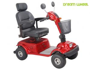 China Disable 600 Watt 4 Wheel Mobility Scooter 105Kgs Polyurethane Adjustable Seat on sale