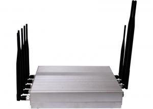 China China Signal Jammers | 8 Antenna Desktop 3G Mobile Phone GPS Bluetooth VHF UHF Signal Jamm on sale