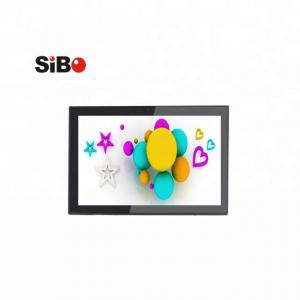 China Newest Wall Flush Installation 10 Inch Android OS Industrial POE Touch Panel With GPIO RS232 RS485 supplier