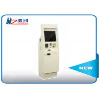 Automatic self service library kiosk with thermal printer card