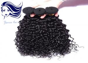 China Tangle Free Weave Human Hair / Brazilian Weaves Hair Extensions Double Weft on sale