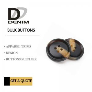 China Fashionable Dress Bulk Plastic Snap Button Brown & Black DTM Fabric Stock Size on sale
