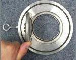 Válvula de verificação flangeada silenciosa do balanço, válvula de verificação não do retorno do óleo/água