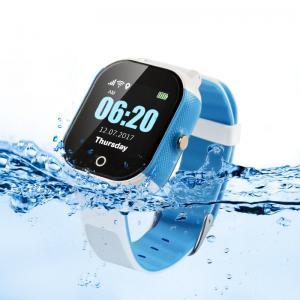 China 450mAh Smart SOS Panic Button Kids Gps Tracker Watch 1.30 Display on sale