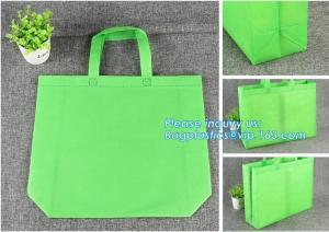 China non woven fabric carry bag tote custom logo non woven bag, promotional shopping nylon non woven bag, customized promotio on sale