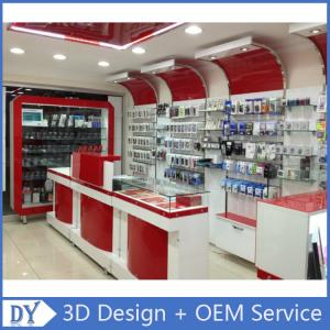 c1e98999e ... Quality Custom Popular Retail Wood Glass Mobile Shop Counter Design For  Mobile phone for sale ...