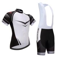 China manufactory Wholesale100% Polyester short  Sleeve breathable fabric cycling jersey
