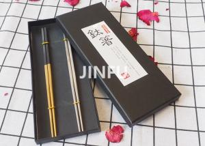 China Multiple Colors Titanium Tableware Colorful Anodized Titanium Chopsticks on sale