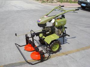 China Multifunctional Power Tiller/ Cultivator with Mower on sale