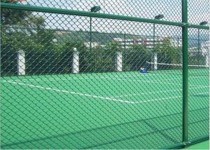 China Zoos Galvanised Metal Chain Link Fencing 50*50mm Mesh on sale