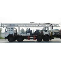600M 6X4 Truck mounted hydraulic water well borehole drilling rig for mud drilling and air compressor