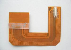 China Custom Double-sided Flexible PCB Board Polyimide Substrate Socket Connector Gold on sale