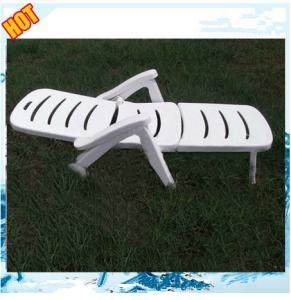 China high quility outdoor indoor white folding plastic beach chair on sale