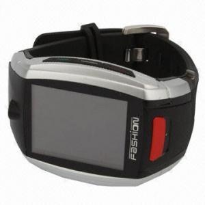 China Refurbished Quad Band Bluetooth Touchscreen Wristwatch Mobile Phone Camera Lamborghini Watch Phone on sale