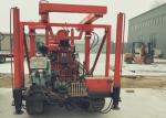 Crawler Mounted Mobile Water Well Drilling Rig ,Borehole Drilling Machine