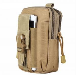 China Outdoor Tactical Waist Belt Bag Outdoor EDC Military Holster Waist Wallet Pouch Phone Case Gadget Pocket for iPhone X 8 on sale