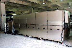 China 34.2 KW Ultrasonic Cleaning Equipment For Turbo Blade / Aerospace Component on sale