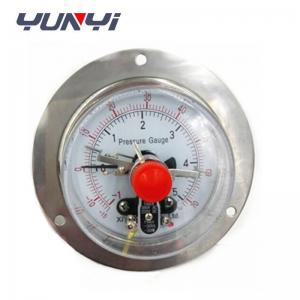 China SS Case Electric contact pressure gauge on sale