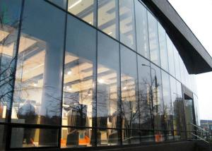 Aluminum Curtain Wall Design : Innovative design aluminum curtain wall visible unitized glass