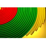 600V/300V Flexible PVC Tubings ,  Multi-Color PVC Sleeves China supplier
