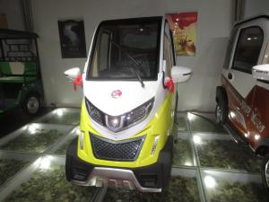 China Smart 4 Wheel Fully Electric Cars 48V 1000W 2500*1130*1720mm on sale