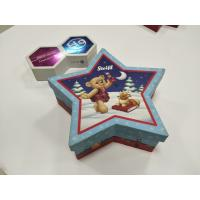 China Cute Lovely Custom Printed Packaging Boxes Pentagram Shaped For Kids Food on sale