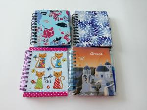 China wire- o binding note book printing on sale