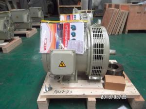 China 3 Phase 32kw / 40kva Self-excited Double Bearing Alternator For Detzu Genset on sale