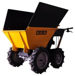 China CE Approval Mini Dumper Garden Tractor Palm Harvester with Extension Sides on sale